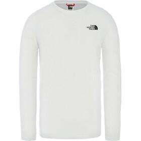 The North Face Langarm T-Shirt Herren tnf white